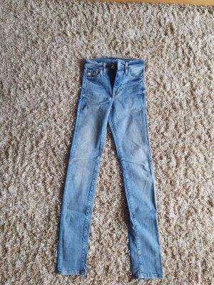 & DENIM Jeans skinny azzurro