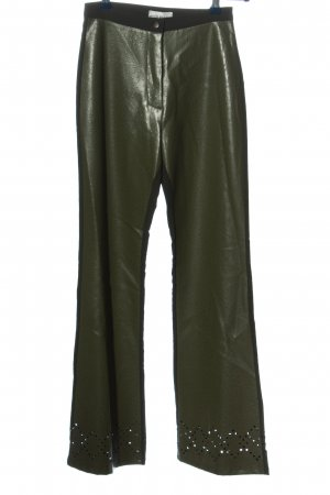 Sharagano High-Waist Hose khaki extravaganter Stil