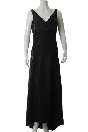 She Abendkleid schwarz-grau