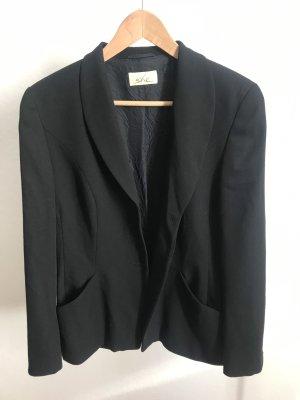 Wool Blazer black