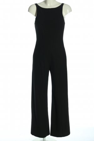 She Jumpsuit schwarz Business-Look
