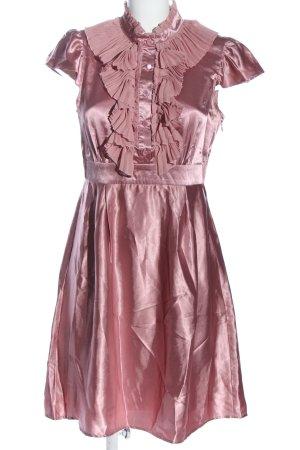 She Kurzarmkleid pink Elegant