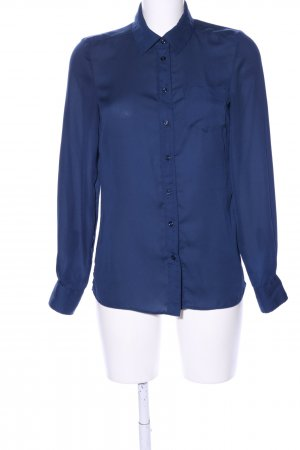She Langarm-Bluse blau Casual-Look