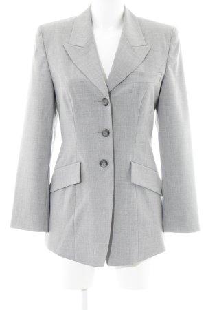She Long-Blazer grau Business-Look