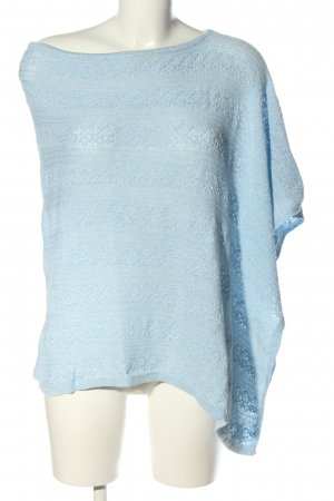 She Poncho blau Casual-Look
