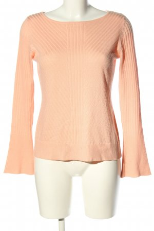 She Strickpullover nude Streifenmuster Casual-Look