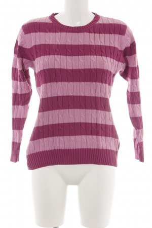 She Strickpullover pink-rot Farbverlauf Casual-Look
