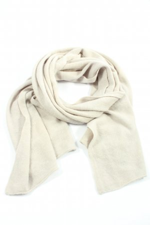 She Knitted Scarf natural white casual look