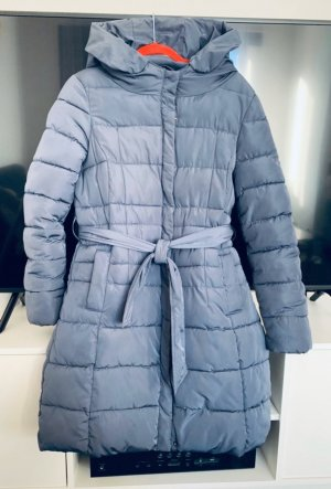 She Quilted Coat slate-gray