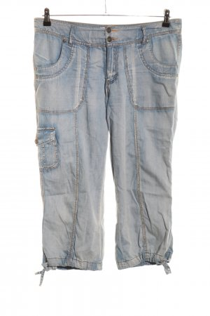 Sheego 3/4-Hose blau Casual-Look