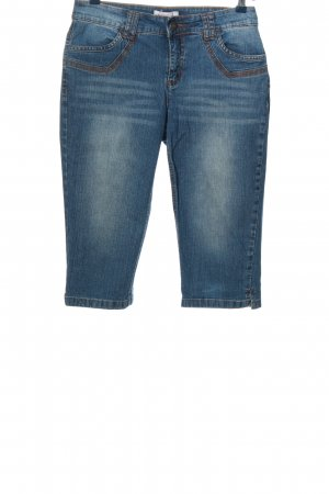 Sheego 3/4 Length Jeans blue casual look