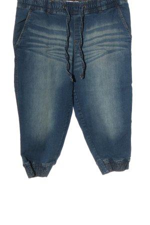 Sheego Jeansy 3/4 niebieski W stylu casual