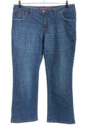 Sheego 3/4 Jeans blau Casual-Look