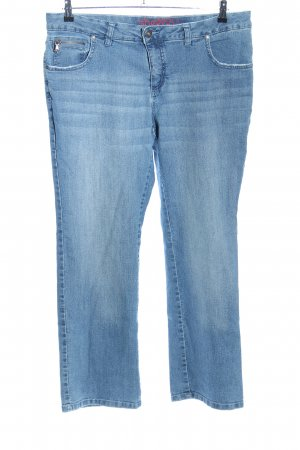 Sheego 7/8 Jeans blau Casual-Look