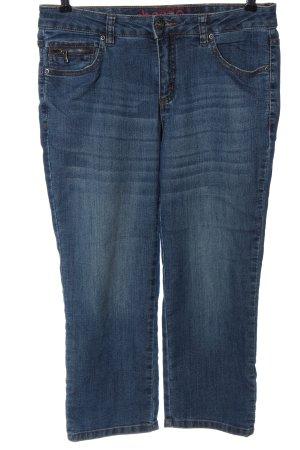 Sheego 7/8 Jeans blau Casual-Look
