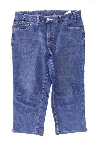 Sheego Jeans a 7/8 blu-blu neon-blu scuro-azzurro Cotone