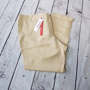 Sheego 7/8 Length Trousers oatmeal