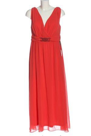Sheego Abendkleid rot Casual-Look