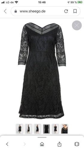 Sheego Abendkleid  aus Floraler Spitze gr:48
