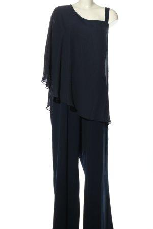 Sheego Jumpsuit blau Elegant