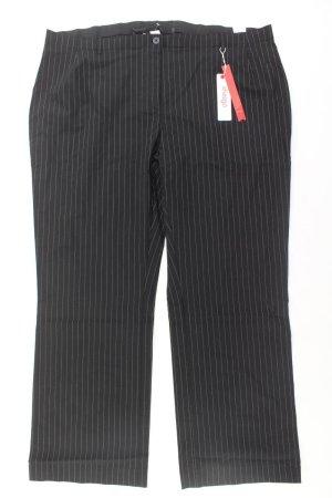 Sheego Pantalone da abito nero Viscosa