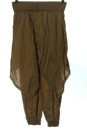 Sheego Baggy Pants braun extravaganter Stil