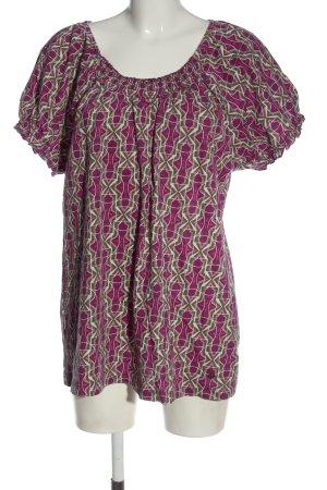 Sheego Maglia batik motivo astratto elegante
