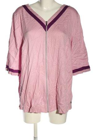 Sheego Blusenjacke pink-lila Casual-Look