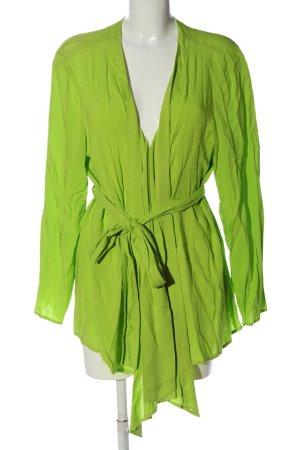sheego by Miyabi Kawai Chaqueta tipo blusa verde look casual
