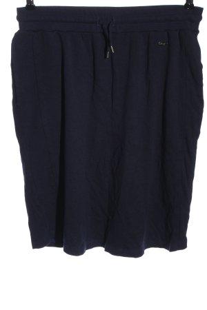 sheego by Miyabi Kawai Falda de punto azul look casual