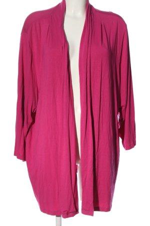 Sheego Cardigan pink Casual-Look