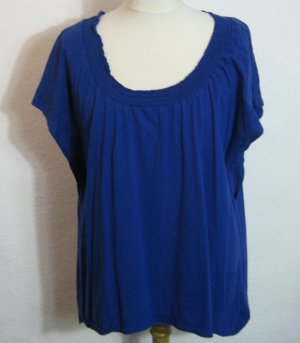 Sheego Carmen Tunika Shirt Größe 48/50 Blau