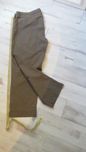 sheego casual leichte stoffhose in52 kaki
