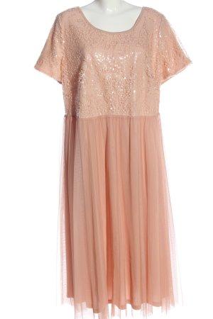 Sheego Cocktailkleid pink Elegant