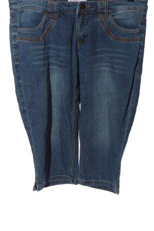 Sheego Denim Jeansy 3/4 niebieski W stylu casual