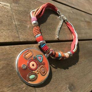 Sheego Collier Necklace multicolored