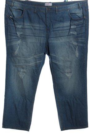Sheego Jeans a 3/4 blu stile casual
