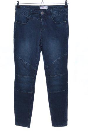 Sheego Jeansy z wysokim stanem niebieski W stylu casual