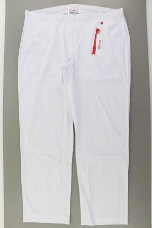 Sheego Trousers natural white viscose