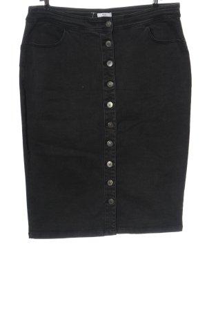 Sheego Gonna di jeans grigio chiaro stile casual