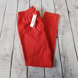 Sheego Jeggings red cotton