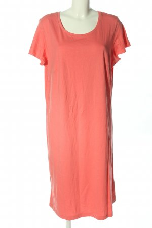 Sheego Jerseykleid pink Casual-Look