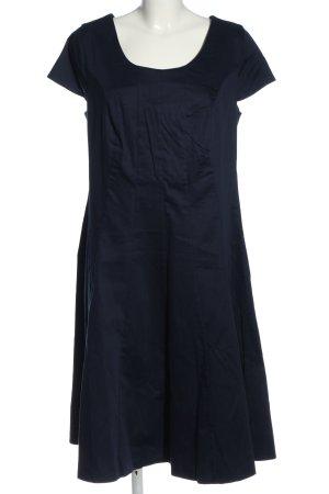 Sheego Midikleid blau Casual-Look