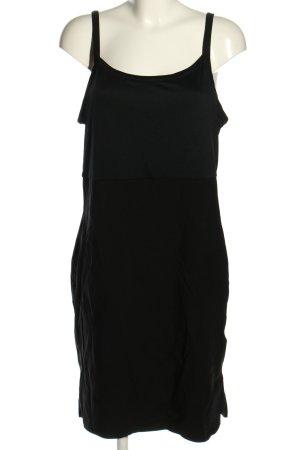 Sheego Minikleid schwarz Casual-Look