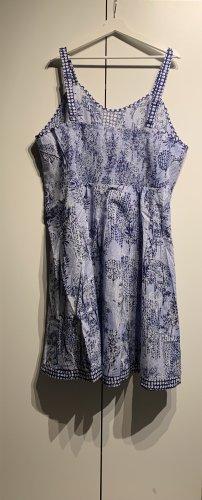 Sheego Neu A-Linien-Kleid, Blau, Größe 56