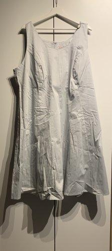 Sheego Neu A-Linienkleid, Grau, Größe 54