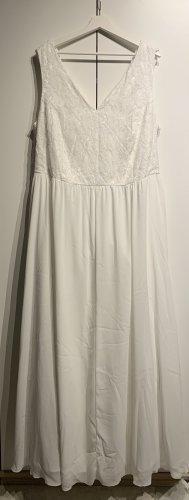 Sheego Neu Abendkleid, Weiß, Größe 48