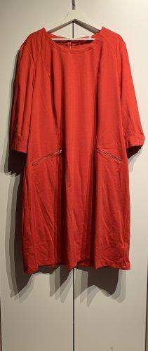 Sheego Neu Jerseykleid, Rot, Größe 44