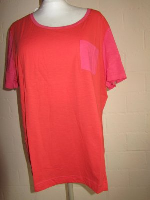 SHEEGO: Shirt koralle-pink, Gr. 48/50, Neu