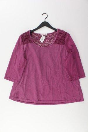 sheego Shirt pink Größe 48
